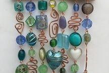 dream catchers & wind chimes / dream catchers, wind chimes, rain catchers, bead-chain decorations