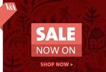 January Sale - Now on! / Shop our online sale for great discounts across all departments and enjoy savings on women's fashion & accessories, designer jewellery, homeware and stationery. / by V&A Shop
