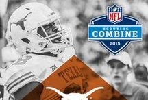 2015 NFL Scouting Combine / Texas Football players participating in the 2015 NFL Scouting Combine. #nfl #nflcombine  / by Texas Longhorns