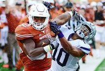 Texas Football vs. K-State [Oct. 24, 2015] / With heavy rain falling throughout the contest at Darrell K Royal-Texas Memorial Stadium, Texas (3-4, 2-2 Big 12) rushes for 274 total yards and manages five sacks to battle past both the elements and K-State (3-4, 0-4), 23-9.