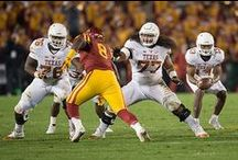 Texas Football at Iowa State [Oct. 31, 2015] / Iowa State (3-5, 2-3 Big 12) defeated Texas (3-5, 2-3 Big 12) by a 24-0 count Saturday, Oct. 31, 2015 at Jack Trice Stadium in Ames, Iowa. QB Tyrone Swoopes led the Horns with 58 yards on the ground and 59 yards in the air with six completions. LB Peter Jinkens notched a game-high nine tackles and two sacks, while CB Davante Davis added three pass break-ups.