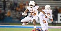 Texas Football at Kansas [Nov. 19, 2016] / A Kansas field goal in overtime prolongs Texas' quest for bowl eligibility, as Texas falls to the Jayhawks, 24-21, in Lawrence, Kansas.