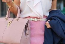 """Fashion Inspiration / """"A girl should be two things: classy and fabulous."""" ~Coco Chanel / by Sara Gabbard"""