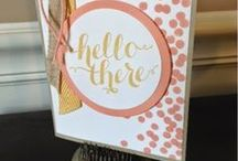 My Style / Cards that inspire me to make more cards! / by Judy Tuttle