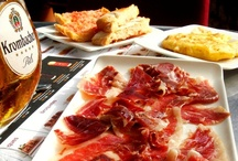 """Spanish and tapas in Spain / Spanish """"pinchos"""" and """"tapas"""". Study Spanish in Spain. www.spanishintour.com"""