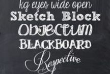 Fonts of Creativity / by B Schultz