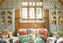 Maison ~ le salon / Living Rooms, Family Rooms, Sitting Rooms, Dens / by Elizabeth Atwood