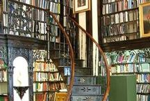 Maison ~ la bibliothèque / Libraries, Writing Rooms, Offices, Reading Nooks / by Elizabeth Atwood