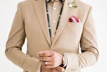 weddings: groom + men / stylish grooms and groom's men