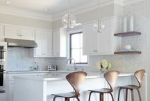 home inspiration: kitchen / modern + eclectic mix