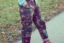 How to Wear Camouflage! / Camo is one of my most favorite prints to wear. Check out how these fun looks featuring camo!