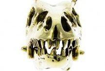 Skull themed jewellery