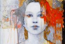 Abstract, figure art