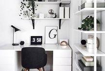 Oficinas y decoración