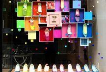 Vitrinas, vidrieras y displays de tiendas