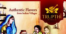 Masala Product  Packaging / Trupthi Masala product packaging an authentic flavours from Indian Village