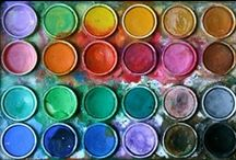 i love coloUr / colourful things and colour palette inspiration