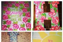 Crafting Ideas / Let us show you the way.  / by Total Sorority Move