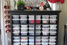 Storage and Organization / by Mary Beth Lay