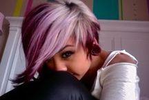 Hair love / Colored hair, hair styles,  short hair,  bobs