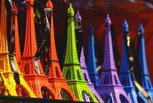 A Rainbow World of Colours / by ღ Carmen ✿ڿڰۣ(̆̃̃ღڿڰۣ B ⊱╮