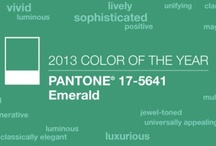 Emerald: Color of the Year 2013