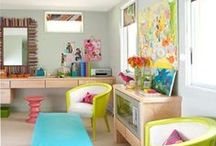 Home Decor:Bright & Beautiful / A wonderful splash of colors that would change your mind and outlook about bright colors in one go...