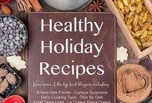 Healthy Holiday Recipes / Healthy Holiday Recipes from some of the top food bloggers