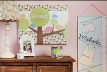 Kids Room Decor / What's more personal than a little cutie's room? / by Frecklebox