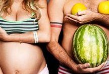 Registre a gravidez / Ideias criativas para fotografar a gestação!