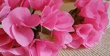 paper flowers / crepe paper flowers by Make a Wish  - Feste Design Eventi. makeawishfde.blogspot.it