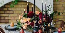 Tablescape | Winter / Winter table ideas craft creativity