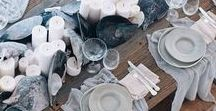 Tablescape | By The Sea / Sea side adventures brought to your dinning table, craft ideas to decorate your table
