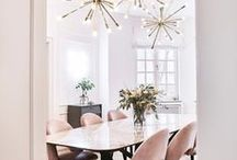 Interior Design Inspiration / Dreaming of decor, all things to create my dream home. House inspiration