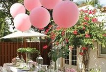 Summer Garden Party / Tips and ideas for making the most out of your garden parties. From extravagant planning to using what you have laying around, here is some inspiration to get you started.
