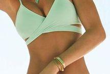 Bright beach/Bikini / sunshine ,sky, sea ,beach and you