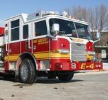 Apparatus/Firetrucks / Fire trucks, Fire engines, specialty apparatus and other machines owned and operated by the Salt Lake City Fire Department