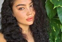 Curly hair girls ++