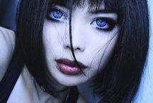 Big eyebrowse beauties ++
