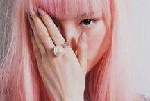Pink hair ++