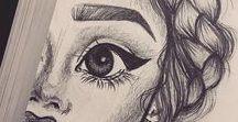 ♥ drawing ideas ♥