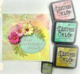 Distress Oxide inspirations