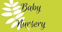 Baby Nursery / Baby nursery decor, cribs, changing tables, nursery artwork, gliders, rockers, boy nursery, girl nursery, twin nursery