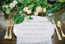 Menus & Signs / Inspiration and ideas for wedding and party menus and signs / by Oh So Beautiful Paper