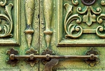 Beautiful Design / ~*Beautifully Designed Elements from the Past*~ Architecture, Hardware, Doors & Windows.