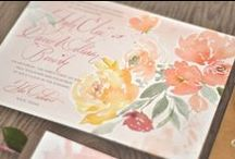 Wedding Invitations / Wedding Invitation Ideas and Inspiration / by Oh So Beautiful Paper