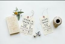 Save the Dates / Wedding Save the Date Ideas and Inspiration / by Oh So Beautiful Paper