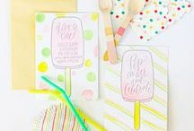 Kids Parties / Invitation and Decor Inspiration for Kids Parties / by Oh So Beautiful Paper