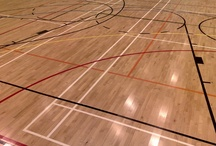 Sports Flooring /  McKay Flooring is the UK's largest sports flooring company, installing over 30,000 square metres of sports flooring every year to the highest possible standard. We specialise in all hardwood sports floors for halls, clubs and schools with over a hundred Building Schools for the Future projects completed so far. We are specialists in sports court markings and we are an Approved Junckers Contractor, the biggest name in sports flooring. We carry out repair and maintenance and can install reclaimed sports floors. / by McKay Flooring
