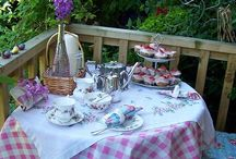 Tea Time and Parties
